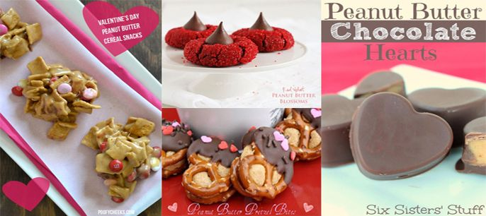 14 insanely delicious peanut butter recipes for Valentine's Day... plus a coupon!