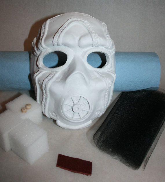 Borderlands Tiny Tina Bandit Mask Unpainted Kit by HauntedKnoll