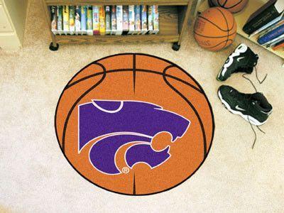 Basketball Mat - Kansas State University