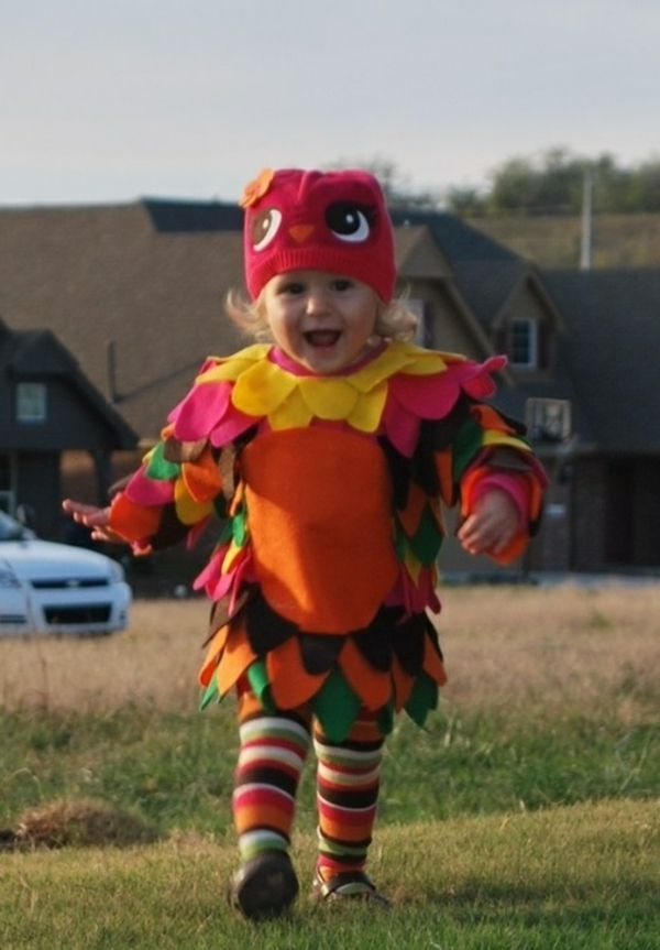 diy kleidung karnevalskostüme baby eule