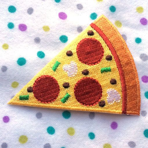 アップリケワッペン ペパロニ ピザ 983