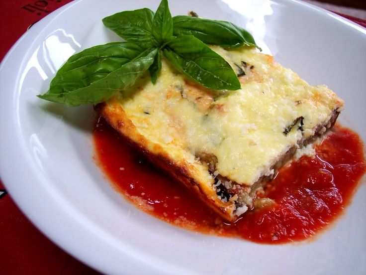 Recipe italian baked eggplant