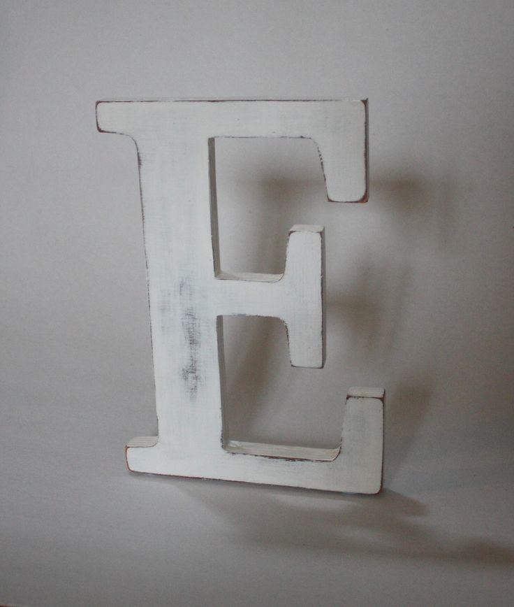 84 best images about lettres en bois on pinterest taupe - Lettre decorative en bois ...