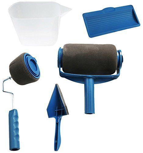paint runner pro le kit de rouleau peinture avec r servoir int gr vu la t l facile. Black Bedroom Furniture Sets. Home Design Ideas