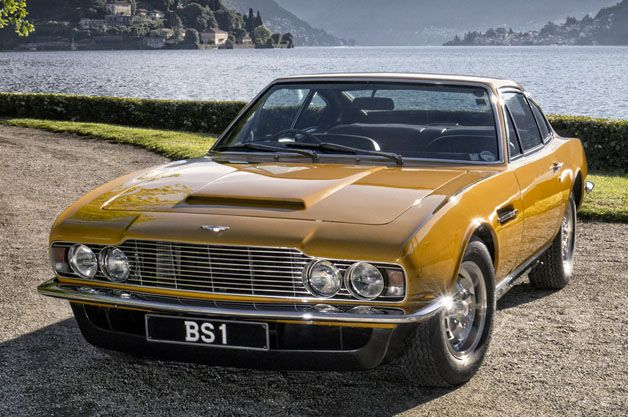 Roger Moore's 1970 Aston Martin DBS sells for $900k [w/video]
