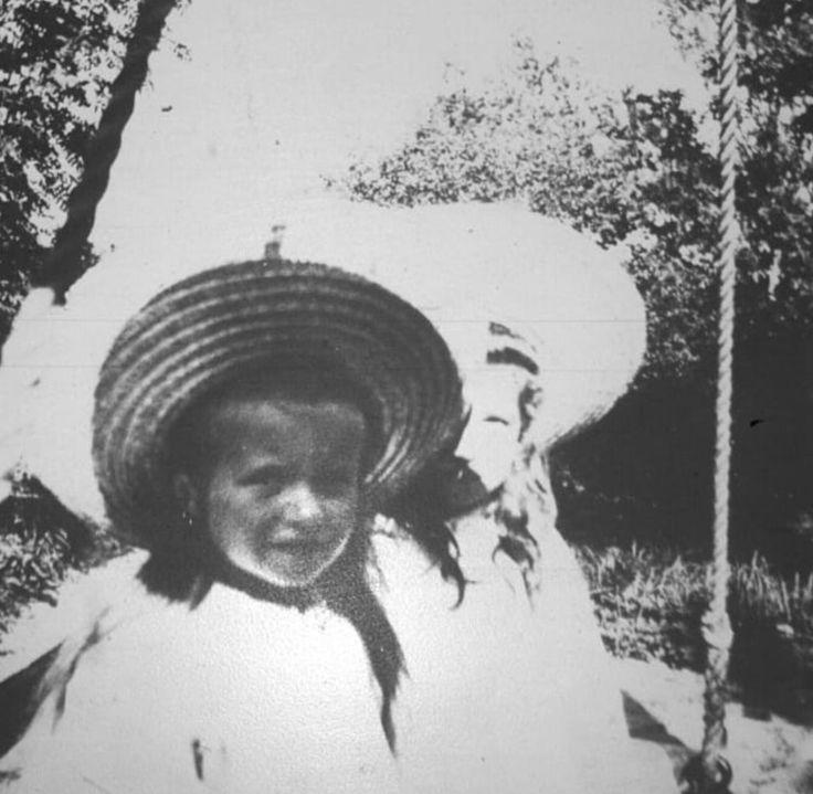 Grand duchess Anastasia and Maria Nikolaevna Romanov of Russia.