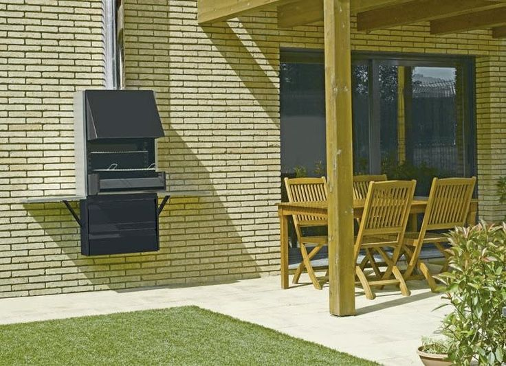 folding wall mounted bbq | ... Palma Jardin , available as a wall mounted or freestanding version