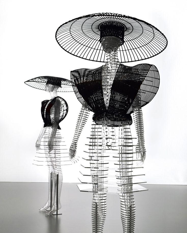 tokujin yoshioka transparent body installation 007
