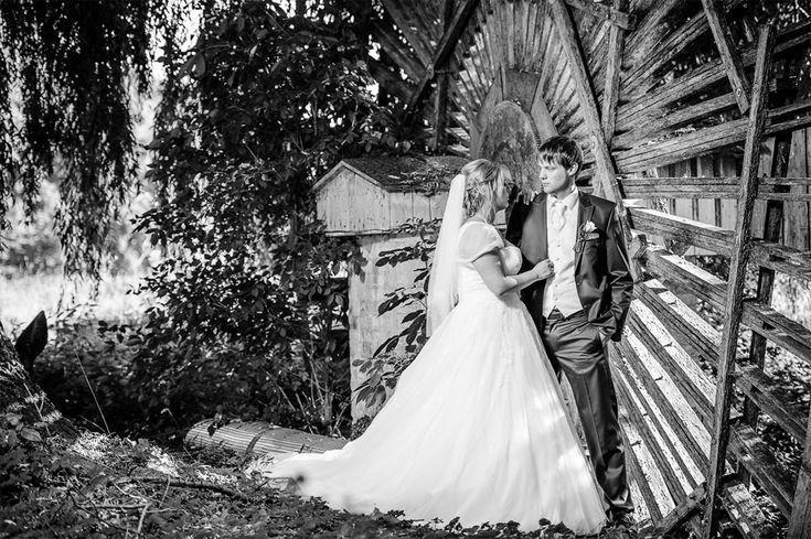 Brautpaarshooting am Schloss Möhler - märchenhaft -