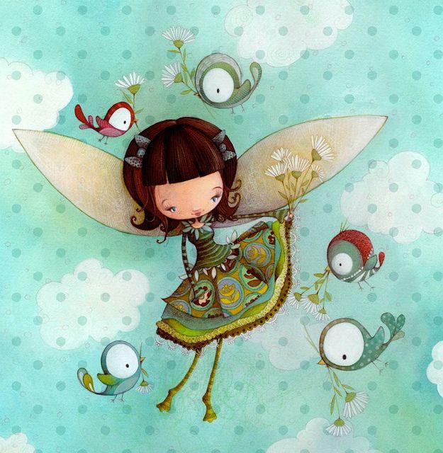La fée Faf Ketto's Faf fairy by Ketto Design, via Flickr