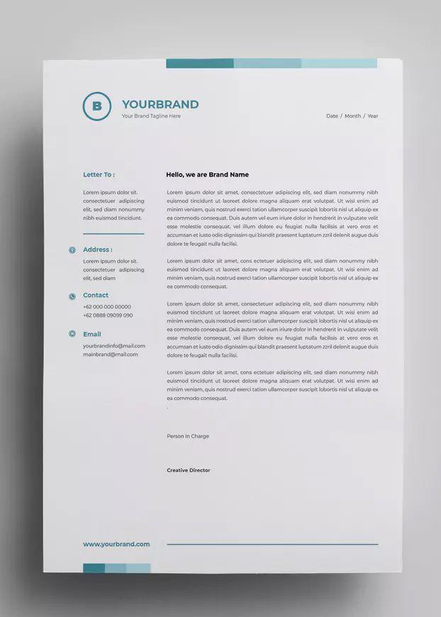 Letterhead Design Templates 17 By Surotype On Letterhead Design