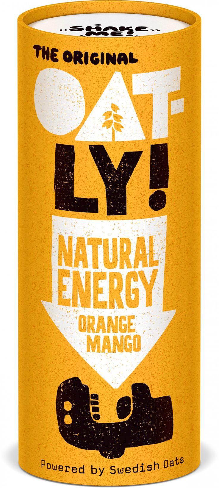 Natural Energy Orange and Mango | Oatly