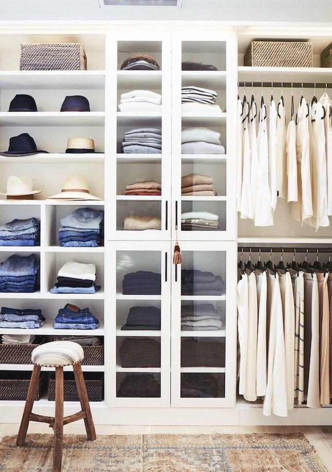 15 organized closets that will give you major inspiration and motivation to de-clutter your space.