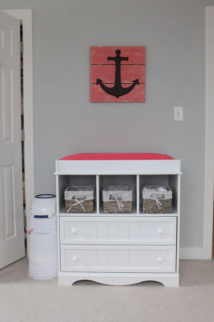 Nautical Baby Girl Nursery