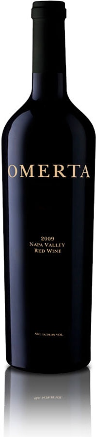 Omertà is the word for an extreme form of loyalty and solidarity and is the definition of the Italian code of silence.  It is, therefore, a perfect name for acclaimed winemaker Bridget Raymond's secret blend from the Napa Valley.