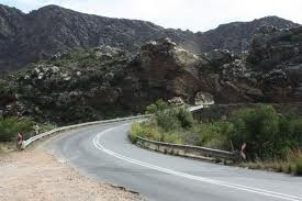 Mountains around Montagu, South Africa