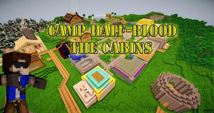 Minecraft: Camp Half-Blood! Part 1: the cabins