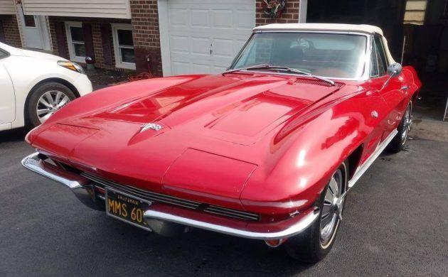 1 Of 133 1964 Corvette Convertible L76 327 Corvette Convertible Corvette Little Red Corvette