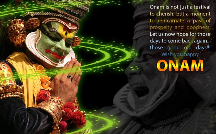 #Onam is a moment of reincarnate a past of #prosperity and goodness. Happy Onam