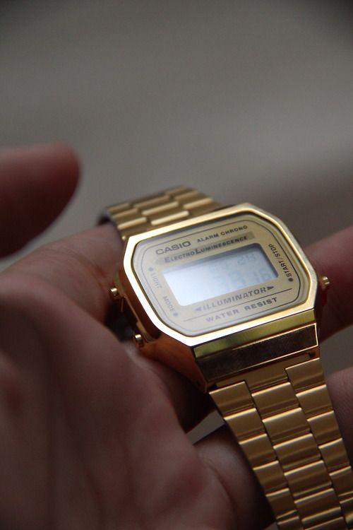 Casio watch. Got it.