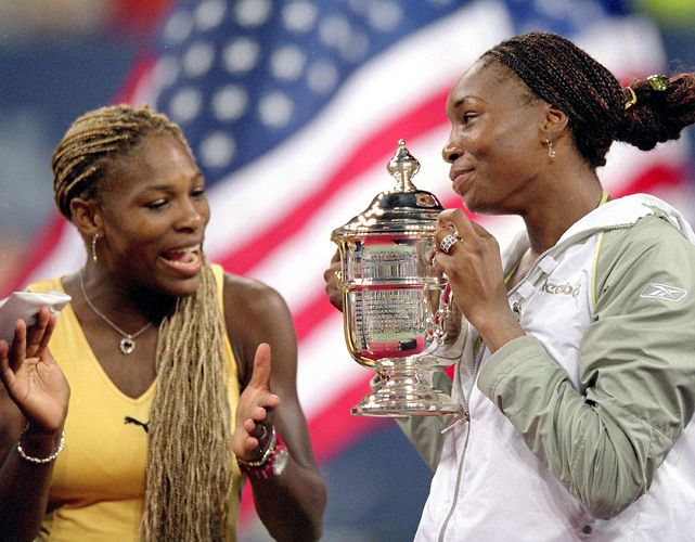 #USOpen #GOAT Serena Williams and Venus Williams