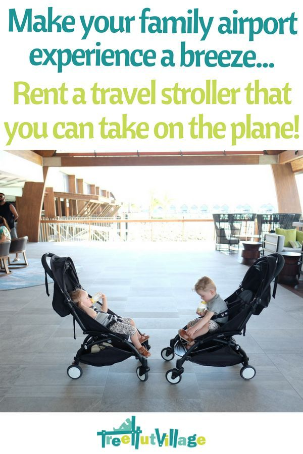 Pram hire for family travel   Rent a travel stroller for your baby travel needs on holiday   Click here to see baby equipment rental items from Tree Hut Village   Family Travel Tips - Baby & Toddler Travel #familytravel #babytravel