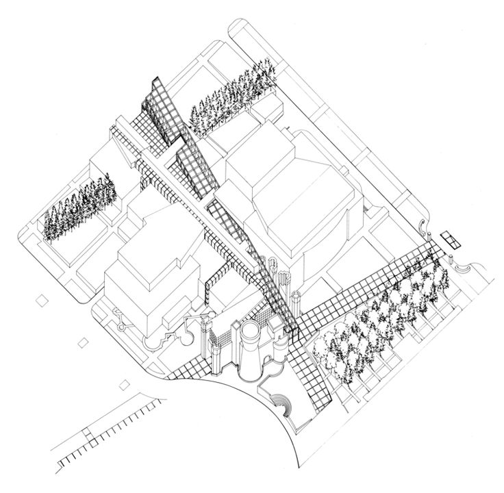 Gallery Of Eisenmans Evolution Architecture Syntax And New Subjectivity 17 Building Skyscraper Blueprints Digital Art