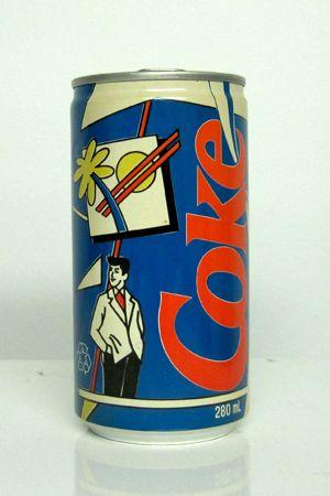 Vintage CokeCans