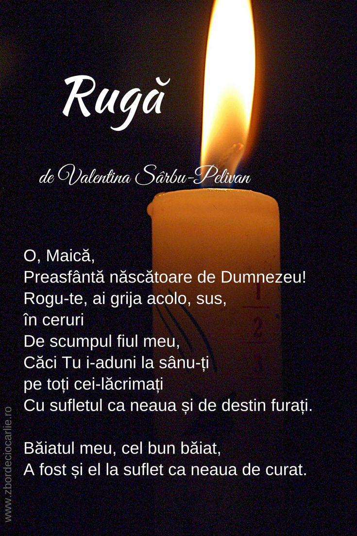 Rugaciune pentru fiul care a murit, durere de mama, rugaciune in poezii, poezii de Valentina Sarbu-Pelivan