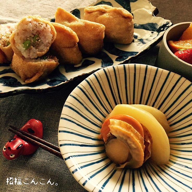 シロー's dish photo 初午 | http://snapdish.co #SnapDish #お寿司 #混ぜ・炊き込みご飯/お粥 #煮物