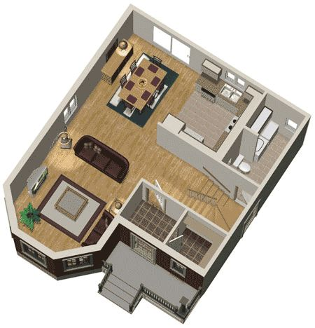 3d House Plans 2 Story 3d -interior-home- design -ideas-with-two ...