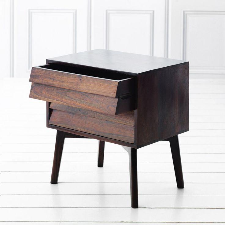 Giogio Dark Bedside - Bedside Tables - Furniture