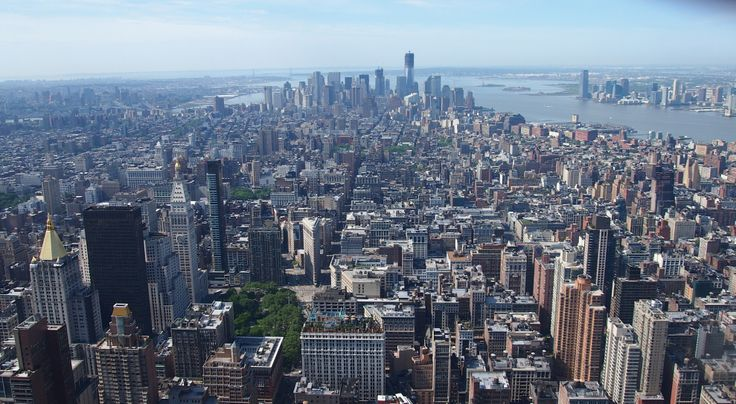 New York. Miss this view from the Empire State Building.