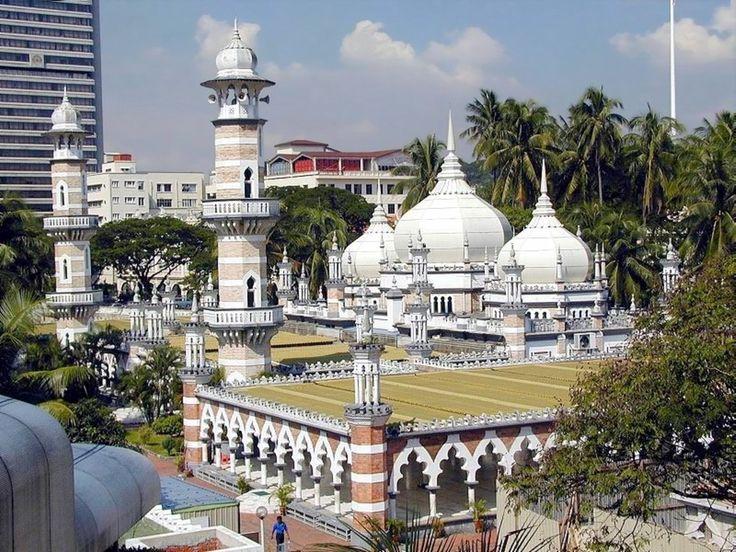 Jamek Mosque - Kuala Lumpur - Malaysia