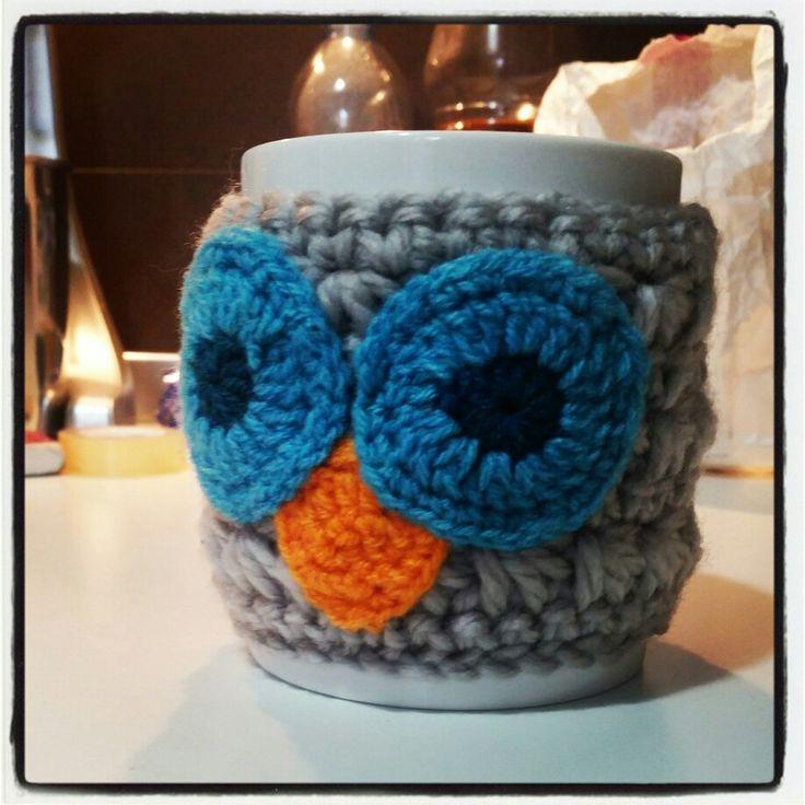 Owl Mug Crochet
