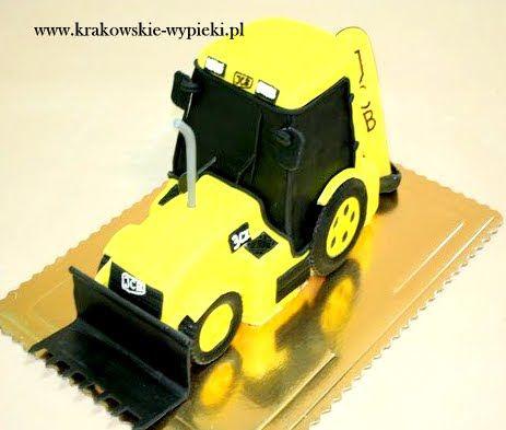 Tort koparka z Cukierni Krakowskie Wypieki