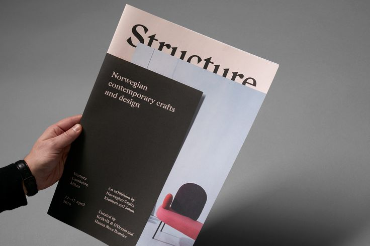 Norwegian Structure by Bielke & Yang, Norway. #branding #exhibition #magazine