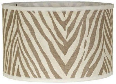 Zebra print lamp shade sevenstonesinc 45 best hand painted ginger jar lamps images on pinterest mozeypictures Choice Image