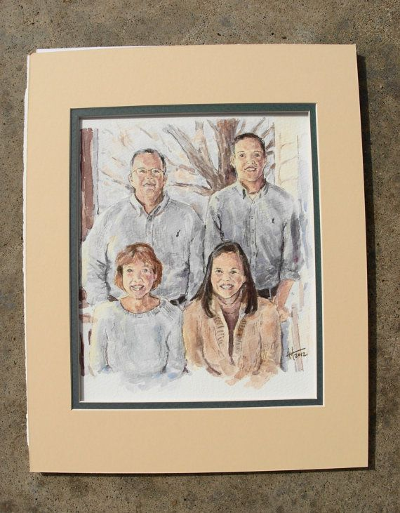 Custom Watercolor Painting from your photo 16X20 by BloominMorning