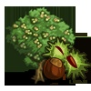 FarmVille Limited Edition English Countryside Trees: Dogwood Tree, Ping Dogwood Tree, Chestnut Tree & Hazelnut Tree
