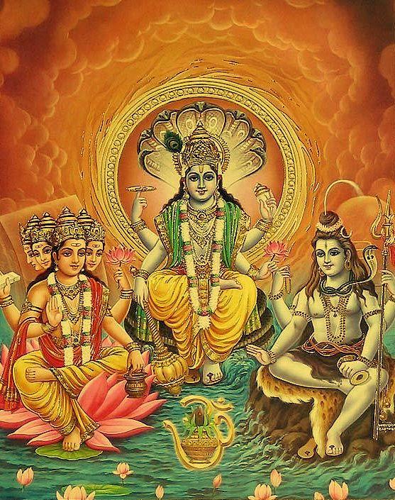 Brahma | ... Setas para o infinito: Invocações a Brahma, Vishnu, Shakti e Shiva