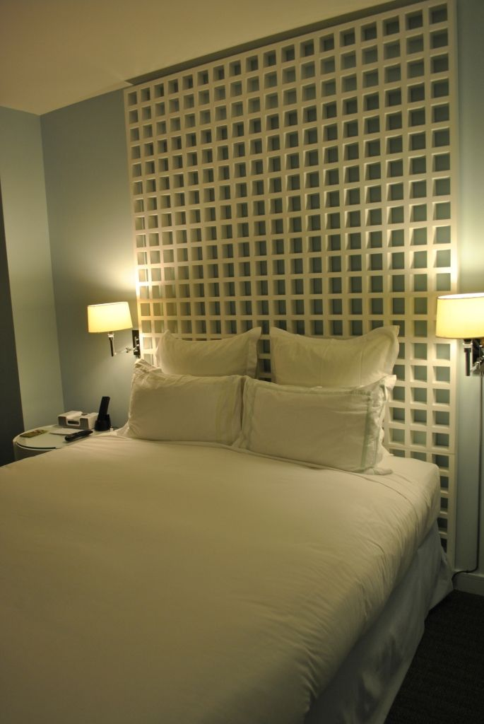 Hotel Headboard Chunky Lattice Headboard Can Probably