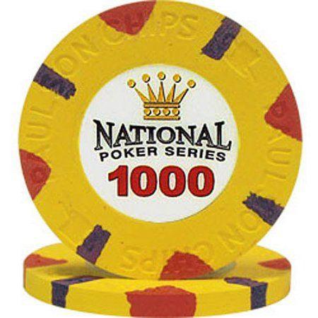Paulson National Poker Series Poker Chips