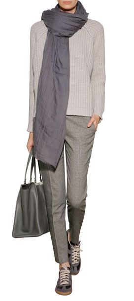 A work to weekend essential, these tailored trousers from Ermanno Scervino feature allover micro check patterning and soft blended wool #Stylebop