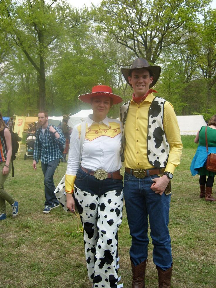 Woody and Jessie from Toy Story Elf Fantasy Fair 2014 Haarzuilens