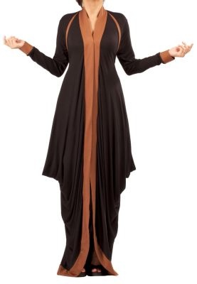 DRAPE DUSTER/ABAYA. This is different. NOt sure how it would look on...but I like it