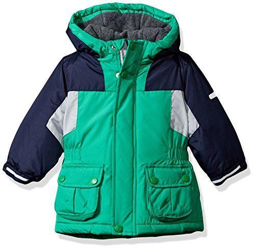 eeec319f4e8a Osh Kosh Baby Boys Awesome Heavyweight Blocked Jacket Coat