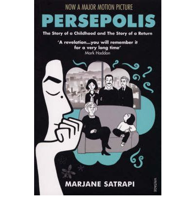 Tells the story of Marjane Satrapi's life in Tehran from the ages of six to fourteen, years that saw the overthrow of the Shah's regime, the triumph of the Islamic Revolution and the devastating effects of war with Iraq. This book paints a portrait of daily life in Iran and of the contradictions between home life and public life.