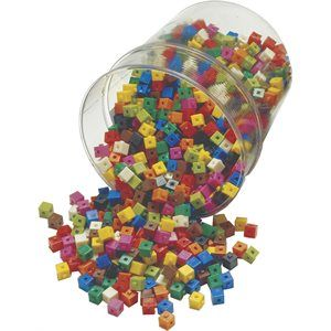 Cubes à imbriquer 1 cm