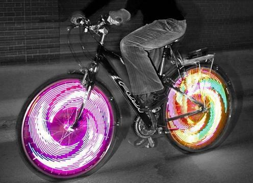 Luci in bici, Martino Gamper